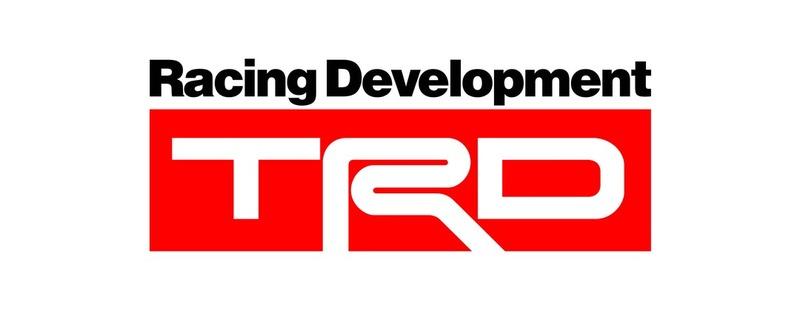 TRD ステッカー(金属/カーボン)