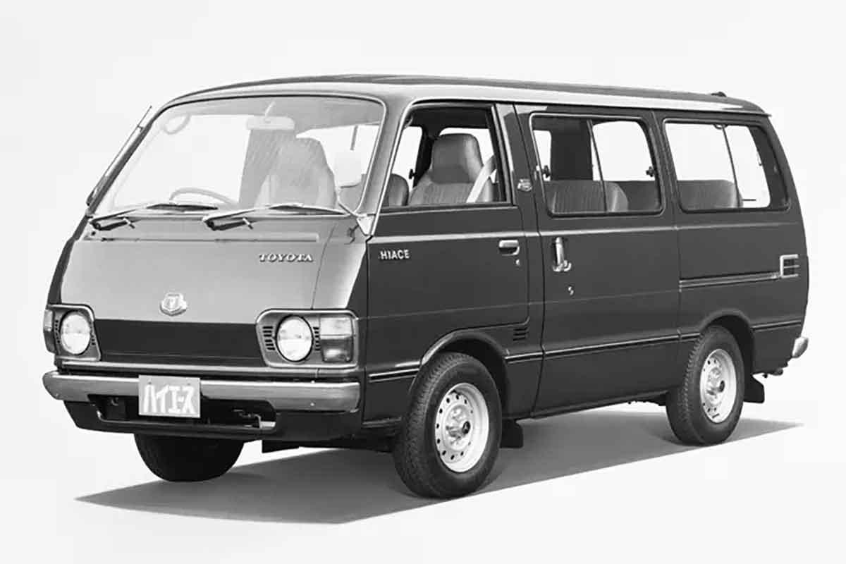 2代目ハイエース 20~40系(1977年〜1985年)