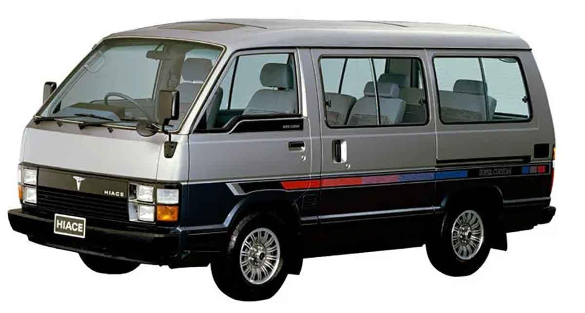 3代目ハイエース 50系(1982年〜1989年)