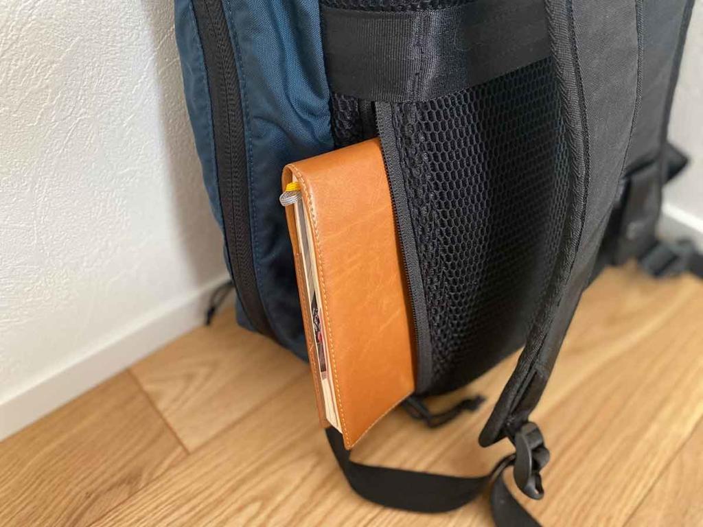 CONCEAL BACKPACK(コンシールバックパック)背面ポケット