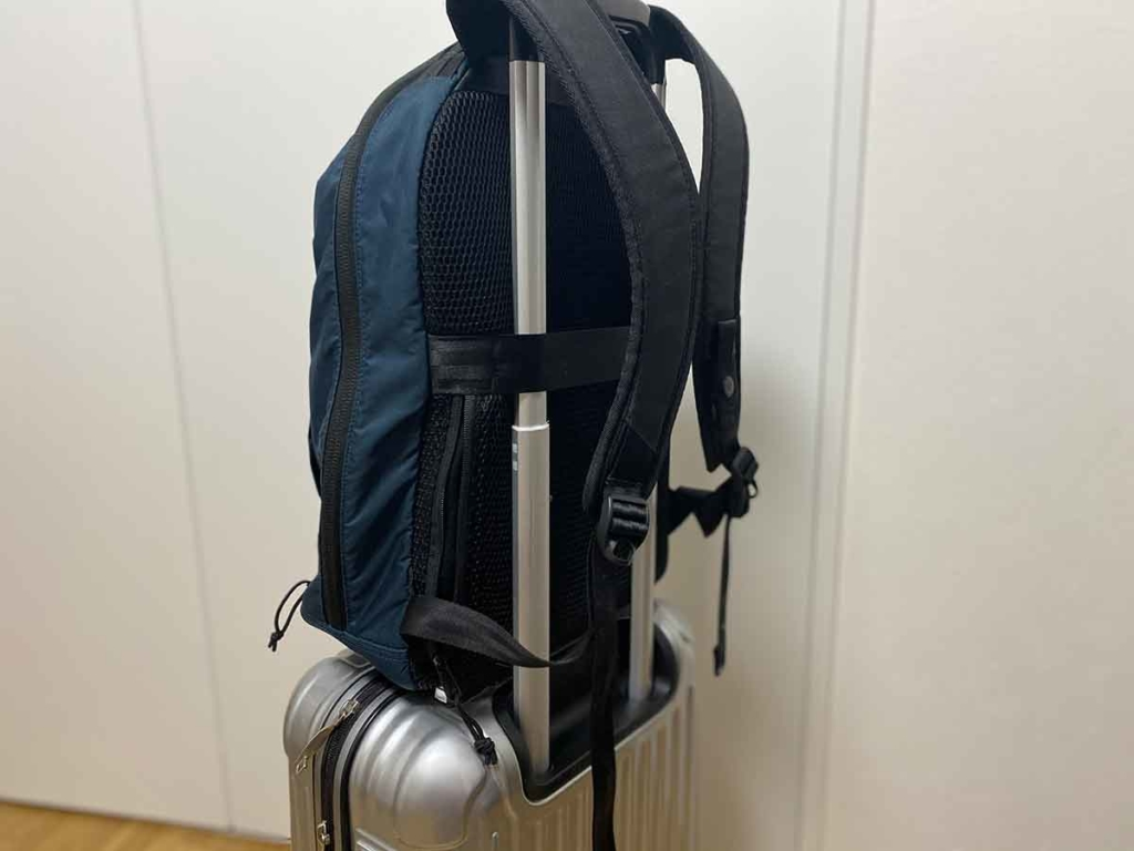 CONCEAL BACKPACK(コンシールバックパック)スーツケース固定