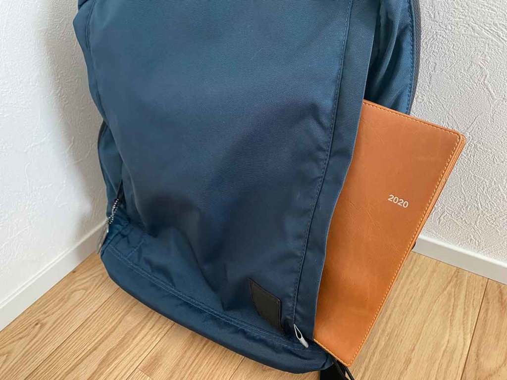 CONCEAL BACKPACK(コンシールバックパック)前ポケット